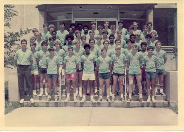 Don Donoher Basketball Campers 1970
